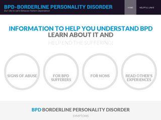BPD Awareness Site