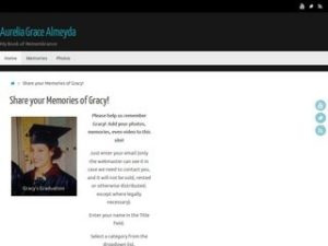 screenshot_of_Aurelia_Grace_Almeyda_memorial_site