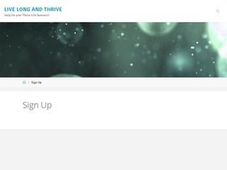 screenshot_of_LiveLongAndThrive.net