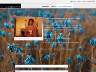 screenshot_of_Memorial_Site_for_Joan_Marion_Cutler_Rush