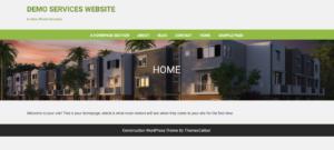 Screenshot of demo.bonnysites.com