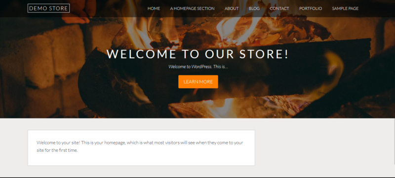 Screenshot of demostore.bonnysites.com